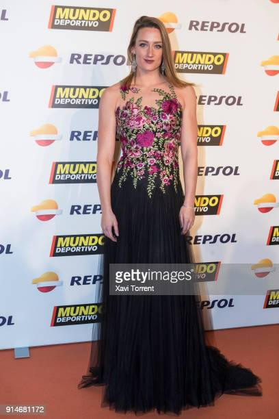 Mireia Belmonte attends the photocall of the 70th Mundo Deportivo Gala on February 5 2018 in Barcelona Spain
