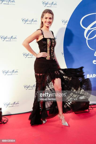 Mireia Lalaguna attends the Cafe del Mar Club Barcelona's Opening at Port Forum Sant Adria on May 25 2017 in Barcelona Spain
