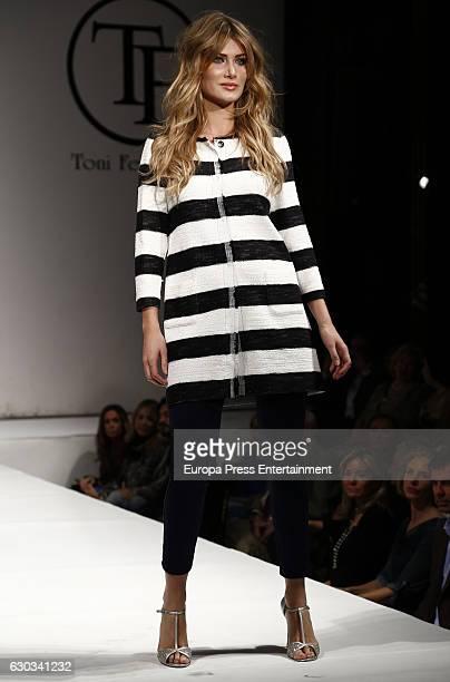 Mireia Lalaguna walks the catwalk during Toni Fernandez fashion show at Joy Eslava on December 20 2016 in Madrid Spain