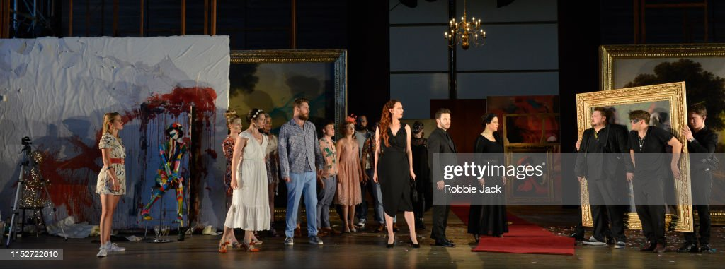 Don Giovanni Opera Is Performed At Garsington : News Photo