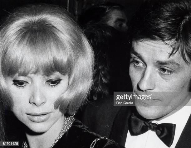 Mireille Darc and Alain Delon