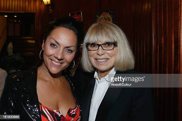 Mireille Darc and Princesse Hermine de Clermont Tonnerre attend the 'IFRAD' Gala at Cirque D'Hiver In Paris on September 25 2013 in Paris France