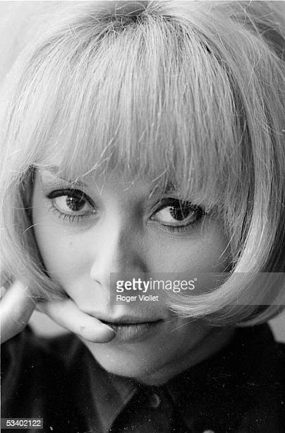 Mireille Darc, French actress. France, in 1966. RV-357094-15