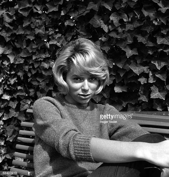 Mireille Darc, French actress, in 1961. ADR-392-004