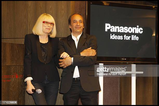 Mireille Darc Richard Melloul whose photographs are auctioned at Christie's Auction Of Richard Melloul Photographs In Benefit Of Association La...