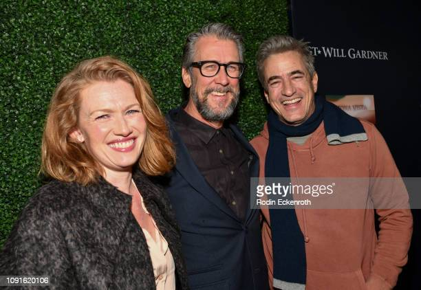 Mireille Enos Alan Ruck and Dermot Mulroney attend the premiere of Cinedigm Entertainment Group's 'SGT Will Gardner' at ArcLight Hollywood on January...