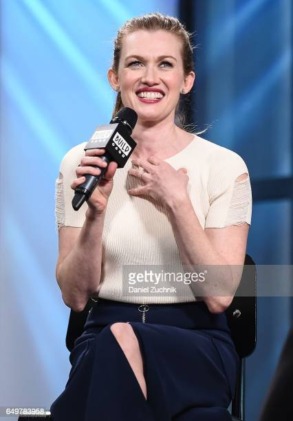 Mireille Enos attends the Build Series to discuss the show 'The Catch' at Build Studio on March 8 2017 in New York City