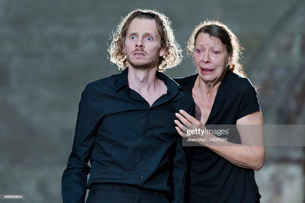 Les Sept contre Thèbes, Eschyle, pièces de guerre', une adaptation pour le théâtre mise en scène par Olivier Py : Nieuwsfoto's