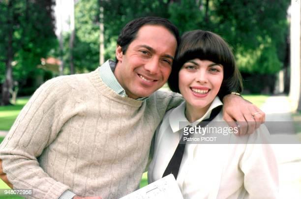 Mireille Mathieu et Paul Anka années 70
