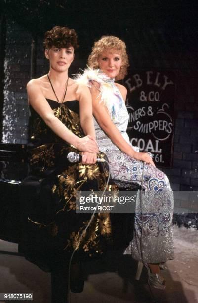 Mireille Mathieu et Petula Clark show télé années 70