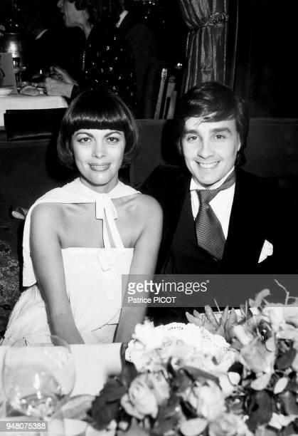 Mireille Mathieu et Thierry Le Luron 1977