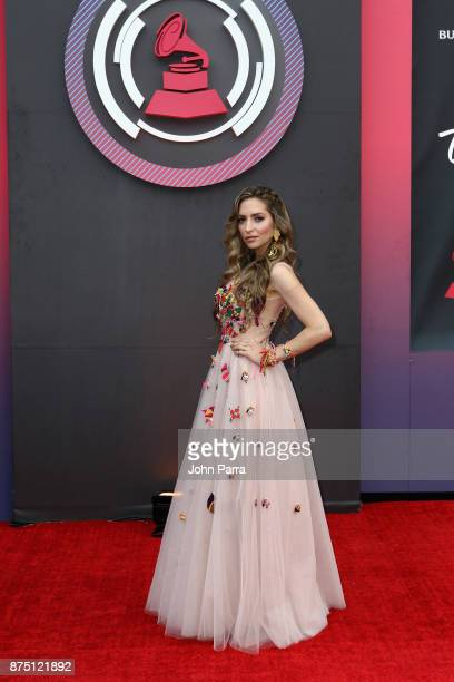 Mirella Cesa attends The 18th Annual Latin Grammy Awards at MGM Grand Garden Arena on November 16 2017 in Las Vegas Nevada