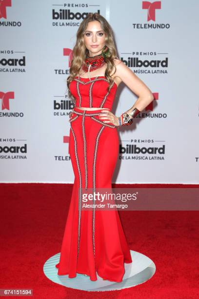 Mirella Cesa attends the Billboard Latin Music Awards at Watsco Center on April 27 2017 in Coral Gables Florida