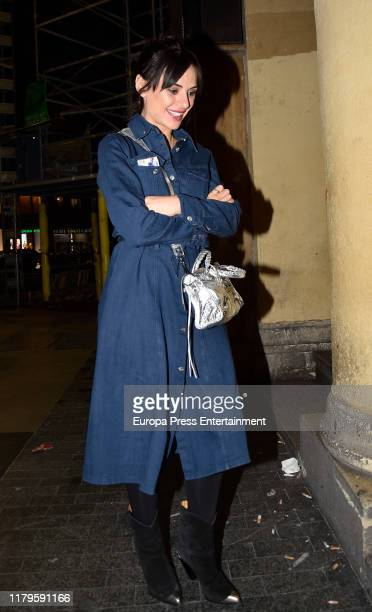 Miren Ibarguren attends a party to celebrate the Paco Leon's 45th birthday on October 04 2019 in Madrid Spain