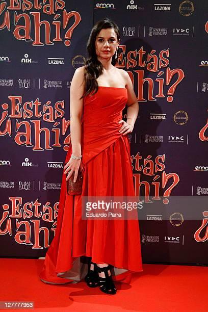 Miren Ibarguren attends ¿Estas Ahi premiere at Palafox cinema on May 12 2011 in Madrid Spain on May 12 2011 in Madrid Spain
