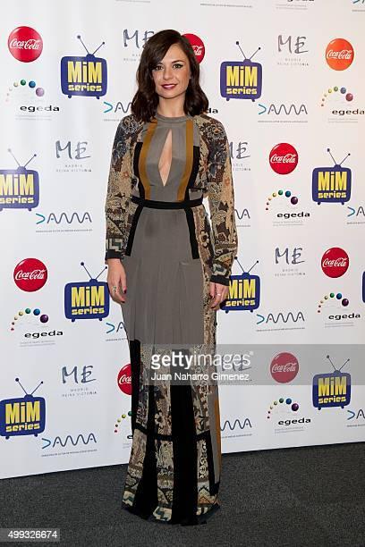 Miren Ibarguren attends MIM Awards 2015 at Me Hotel on November 30 2015 in Madrid Spain