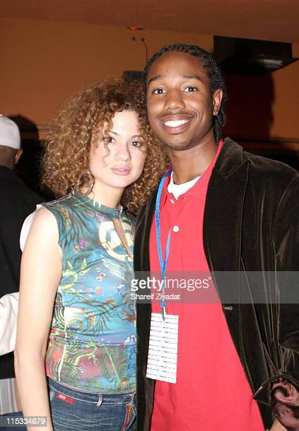 Miri Ben Ari and Michael B Jordan during ESPN PreDraft Party With Special Performance by Amerie April 23 2005 at Show in New York City New York...