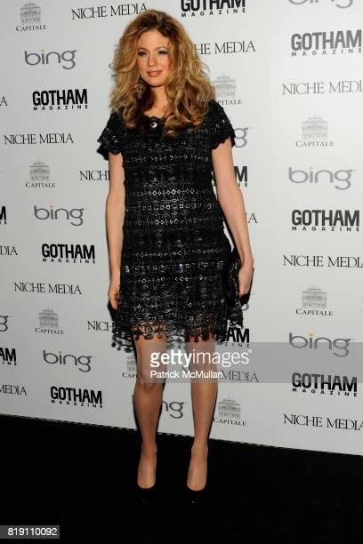 Miri Ben-Ari attends ALICIA KEYS Hosts GOTHAM MAGAZINES Annual Gala Presented by BING at Capitale on March 15, 2010 in New York City.