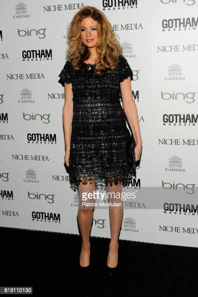 Miri BenAri attends ALICIA KEYS Hosts GOTHAM MAGAZINES Annual Gala Presented by BING at Capitale on March 15 2010 in New York City