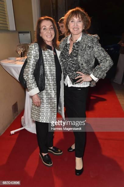 Miriam Avram and Dunja Siegel during 'Maximilian Seitz EinwicklungenImpressionismusFest im Orient' Exhibition Opening at Susanne Wiebe Fashion Store...