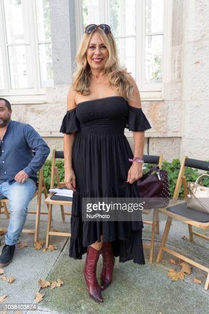 Miriam DíazAroca attends the parade of Manuel Fernandez during the Madrid fashion show held at the Maudes hospital in Madrid Spain September 23 2018