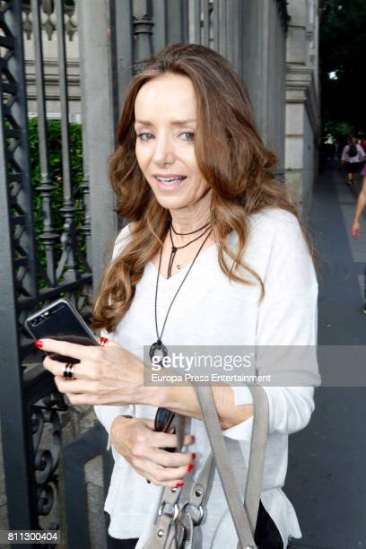 Miriam de Ungria attends Massimo Dutti fashion show on May 31 2017 in Madrid Spain