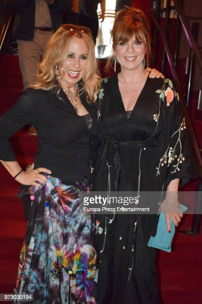 Miriam Diaz Aroca and Belinda Washington attend 'Japanese Club Award For the Best Creative Sushi' on June 12 2018 in Madrid Spain