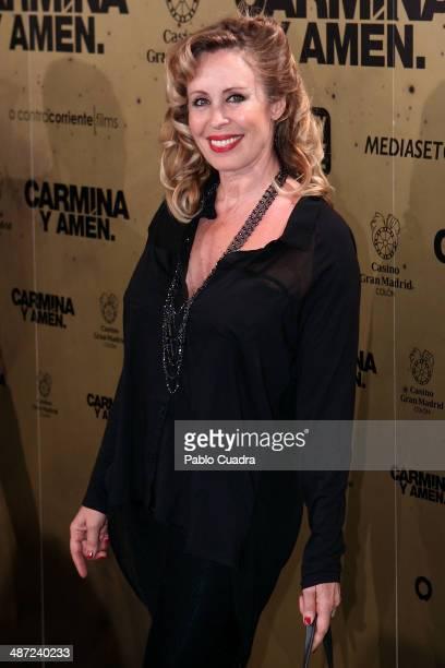 Miriam Diaz Aroca attends 'Carmina Y Amen' Premiere at the Callao cinema on April 28 2014 in Madrid Spain