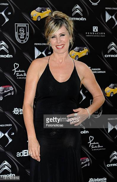 Miriam Diaz Aroca attends 'Citroen DS3 Awards' at the French Ambassador's residence on June 24 2010 in Madrid Spain