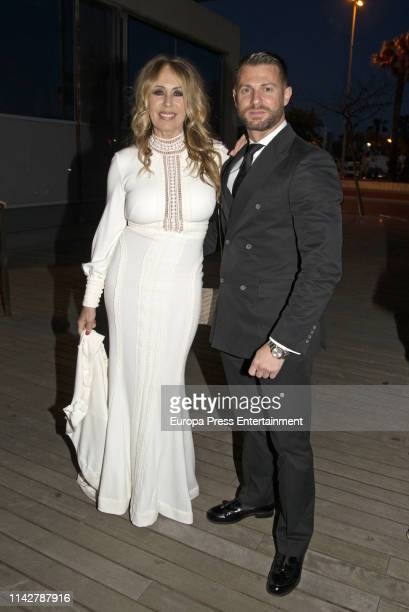 Miriam Diaz Aroca attends Gala Dinner of 'Lagrimas and Favores' Foundation on April 12 2019 in Malaga Spain