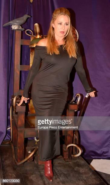 Miriam Diaz Aroca attends 'La Familia Addams' Madrid premiere on October 10 2017 in Madrid Spain