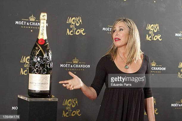 Miriam Diaz Aroca attends 'Moet Chandon Charity Auction' at Casino de Madrid on November 23 2010 in Madrid Spain