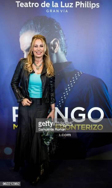 Miriam Diaz Aroca attends 'Pitingo Mestizo Y Fronterizo' Madrid Premiere on May 24 2018 in Madrid Spain