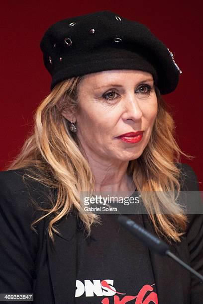 Miriam Diaz Aroca attends the 'Cortoespana' Short Film Festival 2014 at Callao Fnac Forum on February 13 2014 in Madrid Spain