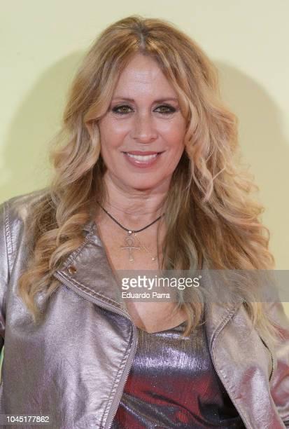 Miriam Diaz Aroca attends the 'Ola de crimenes' premiere at Capitol cinema on October 3 2018 in Madrid Spain