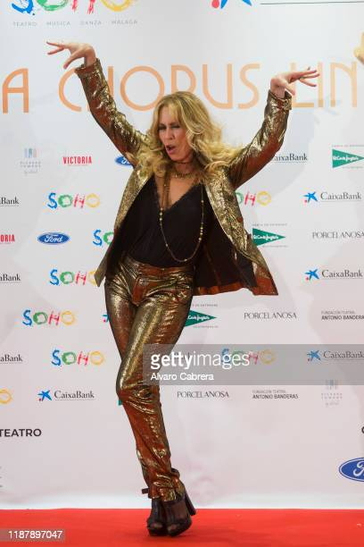 Miriam Diaz Aroca attends the opening of the new theatre Soho Caixabank on November 15 2019 in Malaga Spain