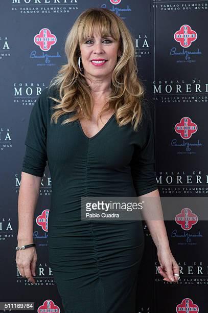 Miriam Diaz Aroca attends the 'Pata Negra' Awards 2016 at 'Corral de la Moreria' on February 18 2016 in Madrid Spain