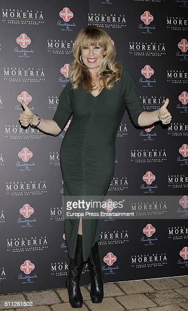 Miriam Diaz Aroca attends the 'Pata Negra' Awards 2016 on February 18 2016 in Madrid Spain