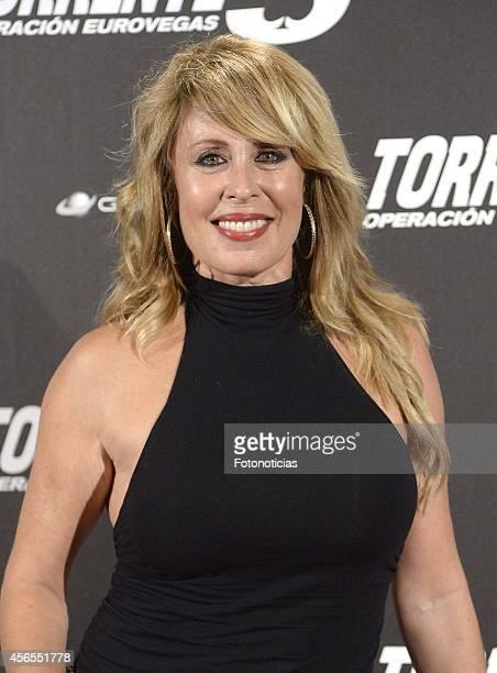 Miriam Diaz Aroca attends the 'Torrente 5 Operacion Eurovegas' premiere at Kinepolis cinema on October 2 2014 in Madrid Spain