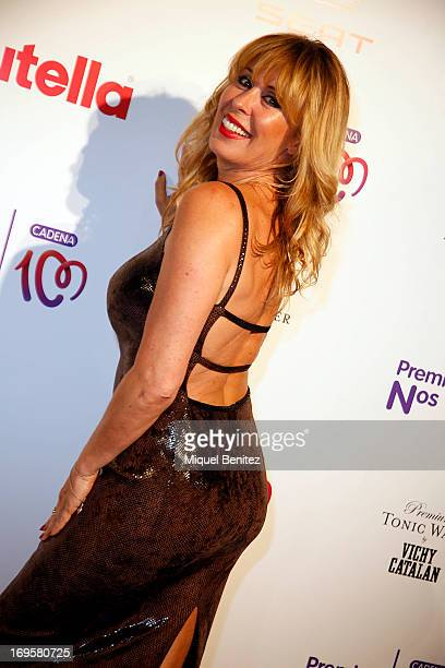 Miriam Diaz Aroca poses at the photocall of 'Cadena 100 Number 1 Awards 2013' on May 27 2013 in Barcelona Spain