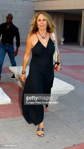Miriam DiazAroca attends Arturo Fernandez Funeral Chapel on July 04 2019 in Madrid Spain