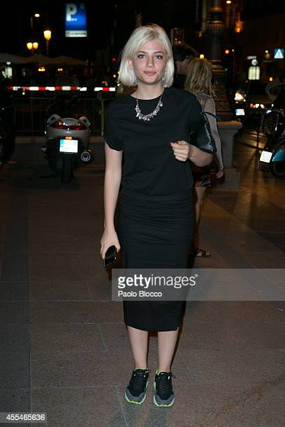 Miriam Giovanelli attends FIBA Private Party on September 14 2014 in Madrid Spain