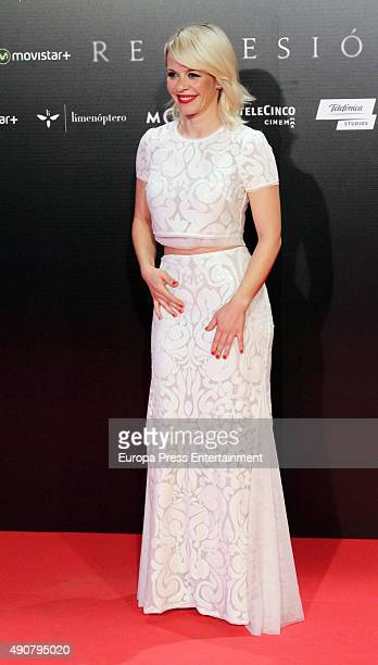 Miriam Giovanelli attends 'Regression' premiere on September 30 2015 in Madrid Spain