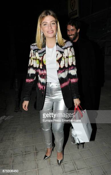 Miriam Giovanelli attends the Jean Paul Gaultier's party organized by Elle magazine at Duarte Pinto Coelho Palace on November 16 2017 in Madrid Spain