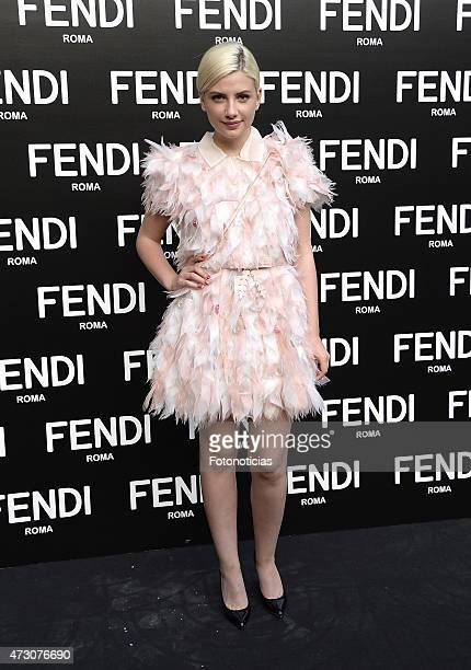 Miriam Giovanelli attends the launch of the Fendi New Eyewear Collection at the Miguel Angel Hotel on May 12 2015 in Madrid Spain