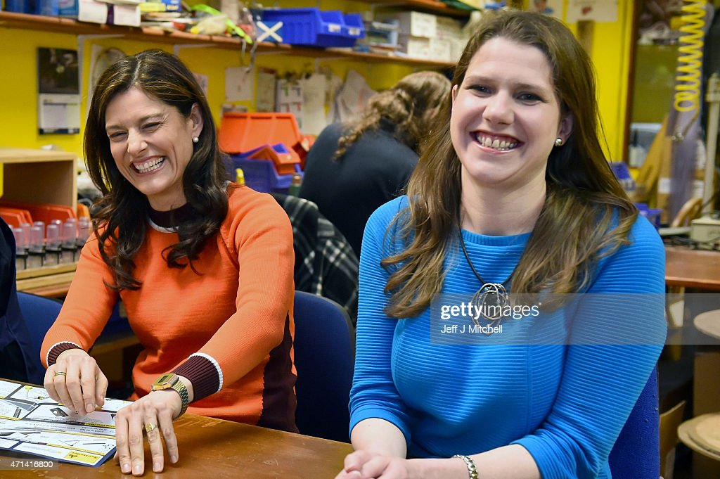 Miriam Gonzalez Durantez Campaigns For The Liberal Democrats : News Photo