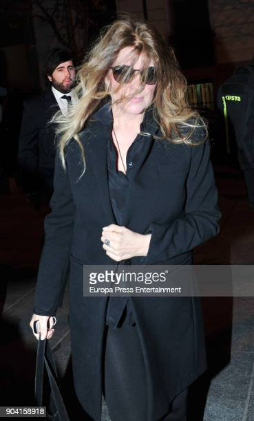 Miriam Guisasola attends the funeral mass for Carmen Franco daughter of the dictator Francisco Franco at the Francisco de Borja church on January 11...