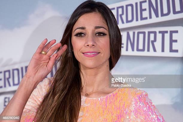 Miriam Hernandez attends 'Peridendo el Norte' premiere at Capitol Cinema on March 5 2015 in Madrid Spain