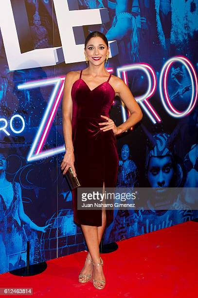 Miriam Hernandez attends 'The Hole Zero' premiere at Calderon Theater on October 4 2016 in Madrid Spain