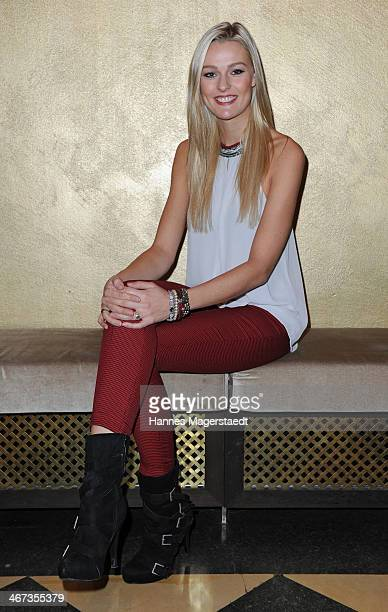 Miriam Hoeller attends the Ernsting's Family Fashion Dinner at Rilano No 6 on February 6 2014 in Munich Germany